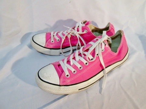 CONVERSE ALL STAR Sneaker Trainer Athletic Sports Shoe PINK Mens 9 Womens 11 CHUCKS
