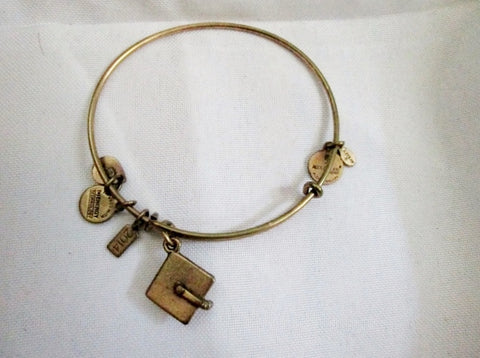 ALEX AND ANI CHARM + ENERGY BRACELET GRADUATE GRADUATION CAP Jewelry Bangle