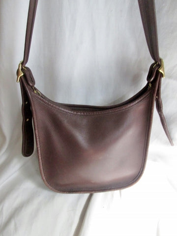 COACH 9950 JANICE LEGACY Leather Hobo Handbag Satchel Purse BROWN S