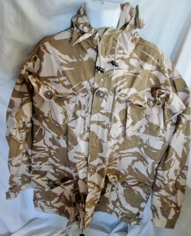 BRITISH ARMY SMOCK COMBAT WINDPROOF DESERT DP MILITARY 190/120 jacket coat  COMBAT WINDPROOF  CAMOUFLAGE
