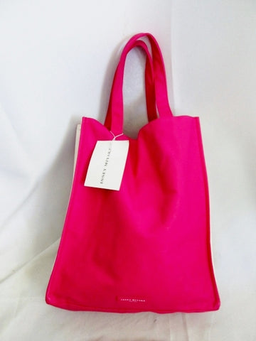 NEW ISSEY MIYAKE PARFUMS TOTE Vegan Shoulder Carryall PINK BERRY PURSE Market Bag