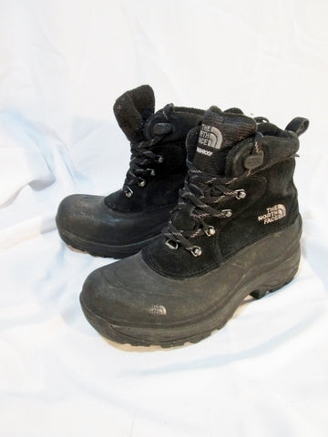 Mens THE NORTH FACE Duck Waterproof Rain Snow Boot 8 BLACK WINTER GRIP