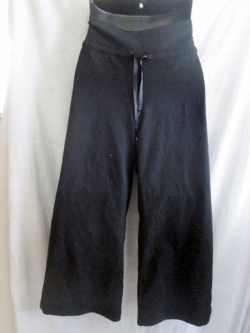 NEW Womens LULULEMON  EXTEND CROP III Athletic Workout Yoga Fitness Pants BLACK 10
