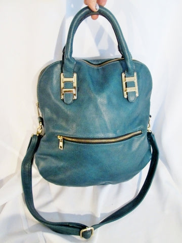 CALL IT SPRING Convertible Vegan Crossbody Shoulder Bag Purse BLUE SEAFOAM Tote