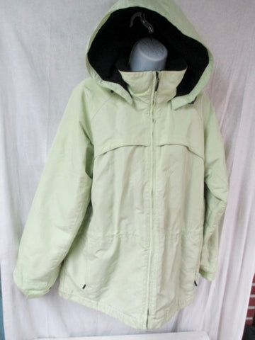 Womens PACIFIC TRAIL SEATTLE JACKET Ski Coat Parka Hooded M GREEN MINT Snowboard