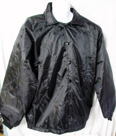NEW Mens BIRDIE MARSAL JACKET Coat Letterman Varsity BLACK 2XL