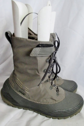Mens TEVA 5 CHAIR Winter Waterproof Duck THINSULATE Boot 11.5 GRAY