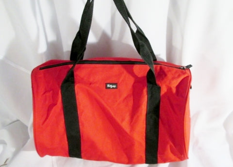 THIRTY-ONE Gym Duffle Bag Travel Carry-On Overnighter Duffel RED Athletic Fitness Sports