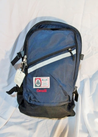 NEW NWT WOODS CANADA BACKPACK Shoulder Rucksack Travel School Book BAG BLUE NAVY