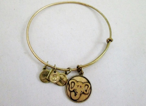 ALEX AND ANI CHARM + ENERGY BRACELET ELEPHANT TRUNK UP 2013 Bangle Jewelry