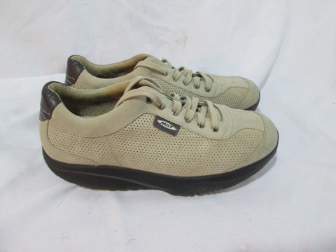 Mens MBT SPORT Fashion Running Sneakers Athletic Workout Fitness BEIGE 9.5