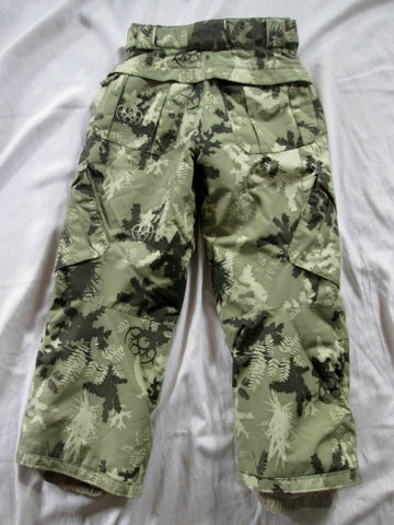 Youth Boys Girls 686 Winter Ski Snowboard Snow Pants KHAKI M 26 X 24 Outdoor Play