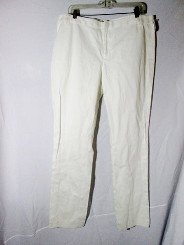 New NWT WOMENS PINK TARTAN Brand HARRIET Pant Trouser WHITE 14 $295