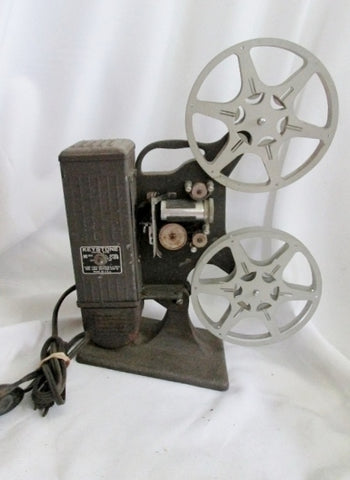 Vintage KEYSTONE 16MM C-28 Film Movie PROJECTOR Made in USA Runs!