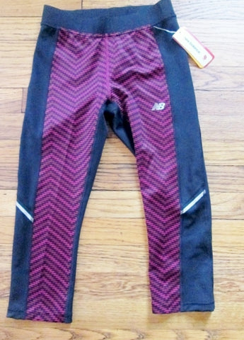 NWT Womens New Balance NB Dry Legging Athletic Pant STRETCH Fitness BLACK S Workout