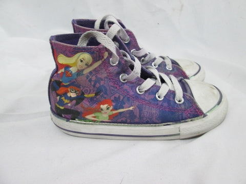 Toddler Baby CONVERSE ALL STAR SUPERHERO GIRLS Hi-Top Sneaker 13 Chuck Taylor