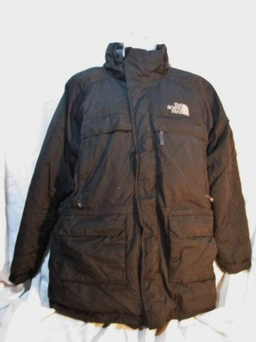 MENS THE NORTH FACE HYVENT Jacket Coat Winter Hood Down Puffer Ski BLACK XL