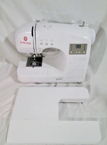 Singer 4166 Electronic Sewing Machine, Not fully tested, Sold AS IS