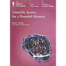 Great Courses Scientific Secrets for a Powerful Memory DVD Set Teaching Company