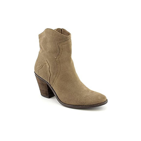 Womens BCBGeneration SANTINA Suede Ankle BOOTS Booties BROWN 8.5 Cowboy Western