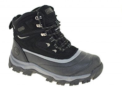 Mens KHOMBU FLUME Waterproof Duck Hiking Field Boots BLACK 11 Leather