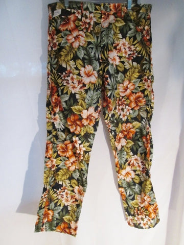 NEW Mens STAN SMITH WILLY FLORAL FLOWER Surfer Cotton PANT Jean Trouser 36X34