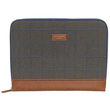 NEW NWT TED BAKER LONDON TWEED Laptop Sleeve Notebook Computer Tablet Case Protector Carrier