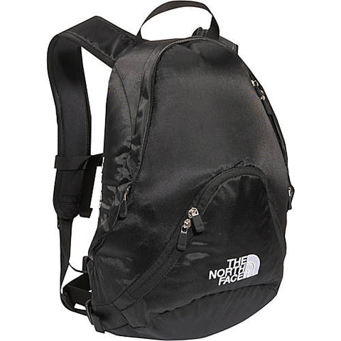 THE NORTH FACE PANDORA BACKPACK Shoulder Rucksack Travel BAG BLACK Vegan Teardrop