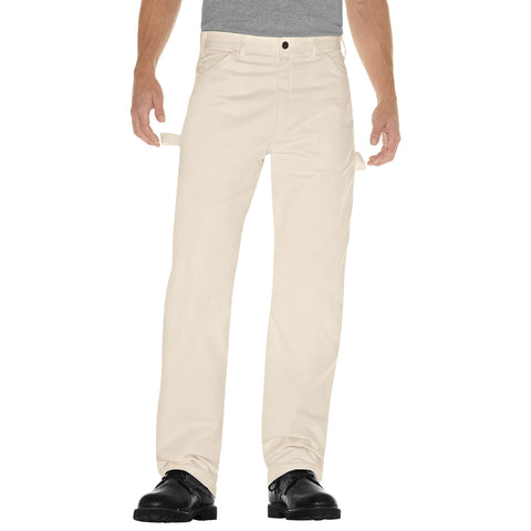 NEW MENS DICKIES RELAXED FIT UTILITY PAINTER Pants 1953 CREME 40 X 30 Work