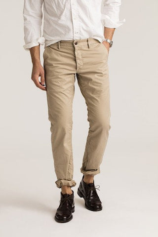 NEW MENS GROWN & SEWN USA Pants Jeans KHAKI 30X34 INDEPENDENT TAN SLIM FIT