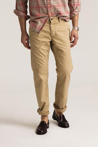 NEW MENS GROWN & SEWN USA 32 X 34 FOUNDATION STRAIGHT PANT WW GHURKA