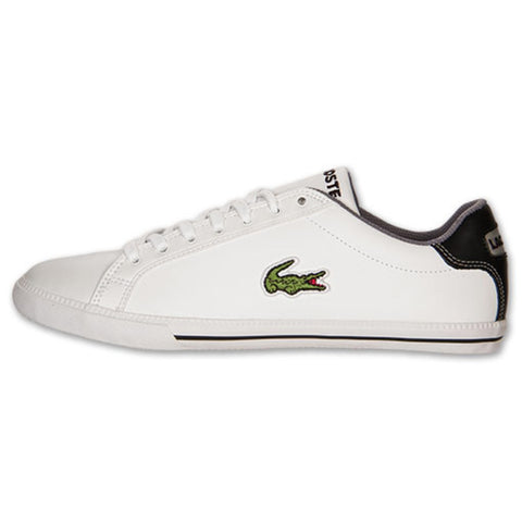 Mens LACOSTE GRADUATE VULC Sneaker Trainer Athletic Sports Shoe WHITE 13 Casual