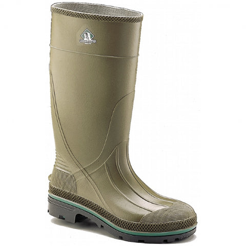 Mens NORTHERNER MADE IN USA Wellies Rain Boots Rainboots Foul Weather 8 GREEN OLIVE