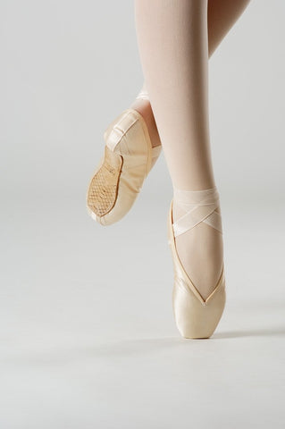 NEW PRIMA SOFT Dance BALLET 702 PRIMA RUSSE TOE Shoe PINK Sz 37.5 Ultimate Dancewear