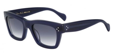 NEW CELINE PARIS ITALY POLARIZED SUNGLASSES SC 1732 NAVY BLUE Womens