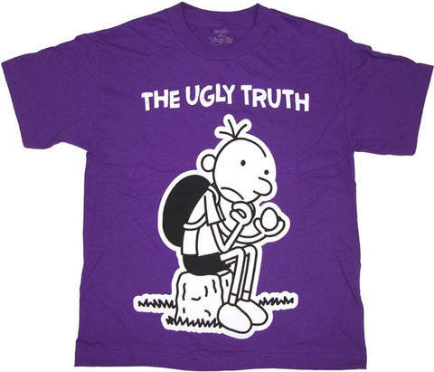 Youth Diary of A Wimpy Kid The Ugly Truth Shirt T SHIRT AQUA PURPLE S