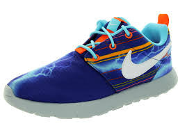 Little Kids Nike 749355-401 ROSHE RUN PRINT Sneakers Sports Shoe Trainer 11.5