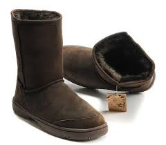 Womens UGG AUSTRALIA 5275 ULTIMATE Short Suede Winter BOOT 9 BROWN CHOCOLATE