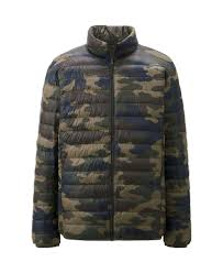 Girls Kids Boys UNIQLO Down PUFFER Ski Snowboard JACKET Coat CAMO 5 Parka