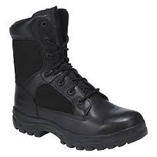 Mens DieHard 8 inch Duty Lace-To-Toe Work Boot Hiking Post 9D Black
