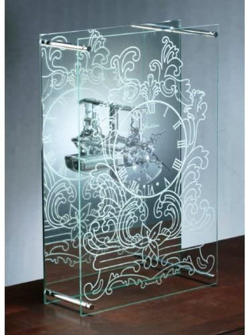 NEW NIB FANTOME INNERMOST GLASS CLOCK GHOST CLOCK Mantel Illusion