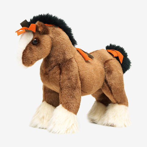 "NIB NEW 18"" HERMES Plush Toy Stuffed Animal HORSE Collectible Gift Doll"
