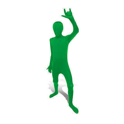 Kids MORPHSUITS One Piece Unitard GREEN Costume Disguise Cosplay L  Halloween