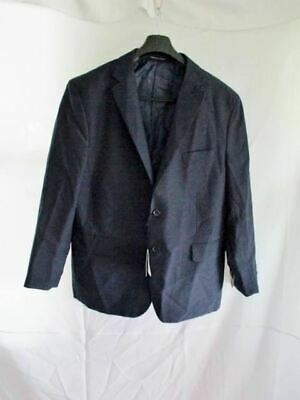 NWT NEW VITTORIO ST. ANGELO JACKET SUIT BLAZER NAVY BLUE 56R Formal Sports