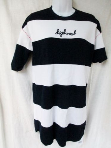 NEW Women YUJIA Wool-Blend Mini Dress STYLEWE BLUE WHITE STRIPE S 2-4