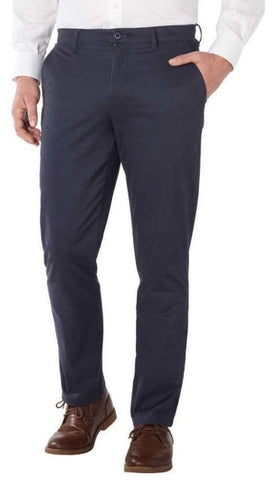 NEW NWT MENS ENGLISH LAUNDRY Elegant ARROGANT PANT Chinos 34x32 BLUE NIGHT
