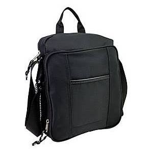 NEW Eastsport 315740 Polyester Tech Gear Bag iPad Purse Shoulder Cross Body BLACK