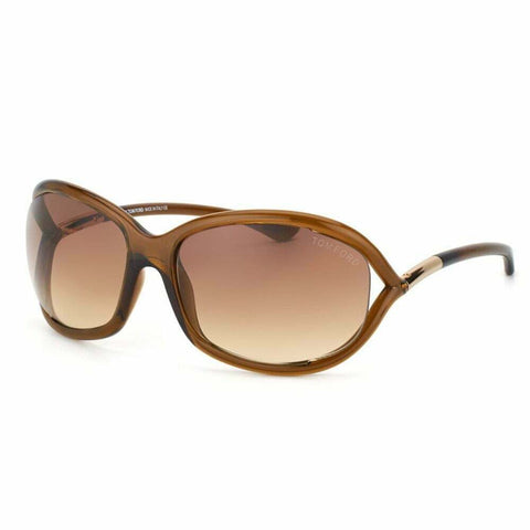 TOM FORD JENNIFER TF8 602 SOFT SQUARE Sunglasses BROWN Luxury Eyewear