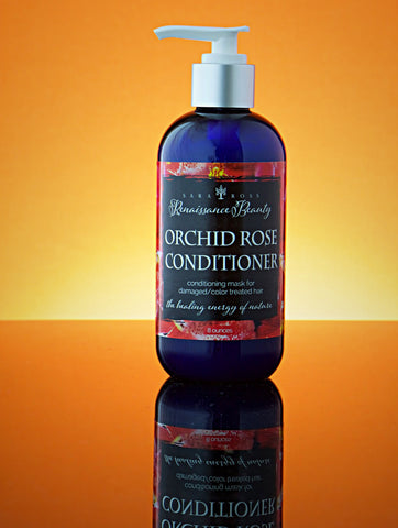 Orchid Rose Conditioner. For normal to dry hair. 8 ounces.