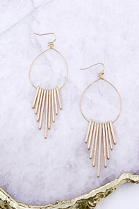 Brilliant Ideas Bar Drop Earrings